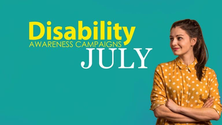 July Disability Awareness Campaigns
