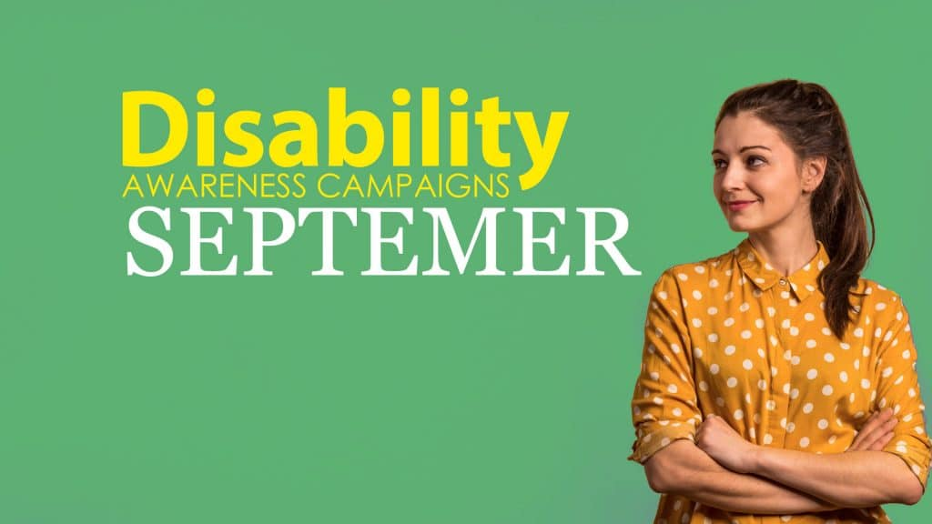Disability Awareness September 2020