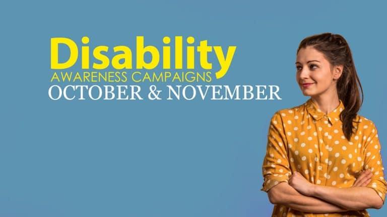 Disability Awareness October