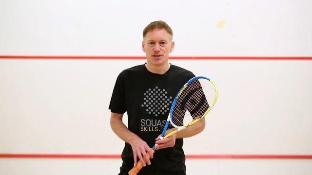 Peter Marshall Squash Player